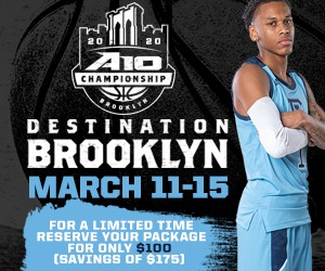 2020 A-10 Tournament Package