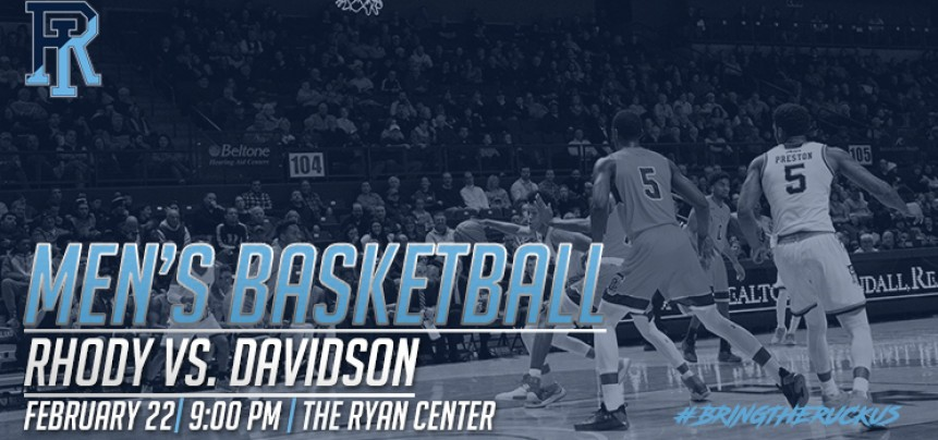 URI Men's Basketball vs Davidson