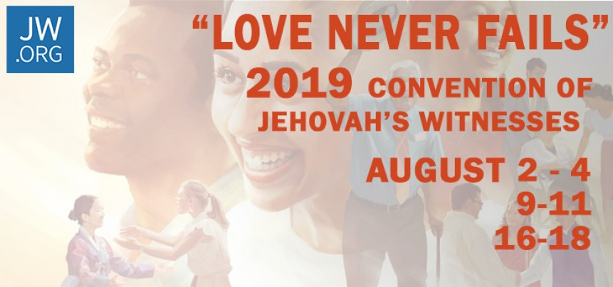 2019 Convention of Jehovah's Witnesses | The Ryan Center