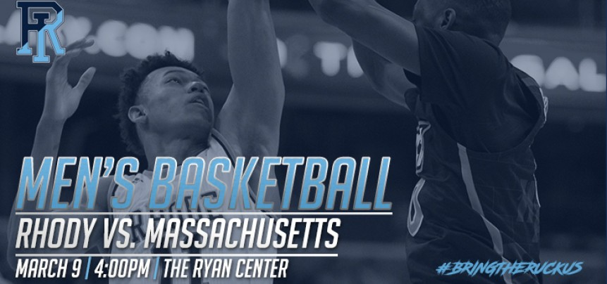 URI Men's Basketball vs UMass