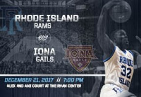 URI Men's Basketball vs Iona
