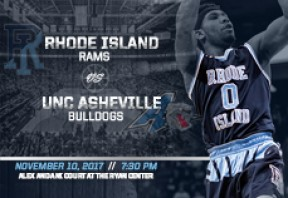 URI Men's Basketball vs UNC Asheville