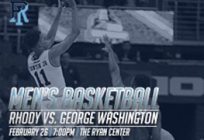 URI Men's Basketball vs George Washington