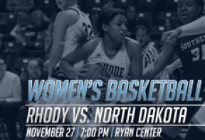 URI Women's Basketball vs North Dakota