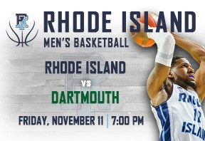 URI Men's Basketball vs Darmouth