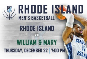 URI Men's Basketball vs William & Mary