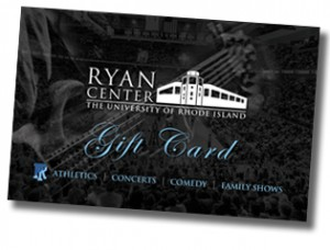 The BRAND NEW Ryan Center Gift Card is the fastest way to make your favorite URI fan smile!